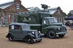 2016-09-17: BBC Van (psyxjaw) Tags: chatham dockyard forties event salutetotheforties kent 40s reenactment historic