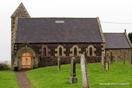 Branxton Church in Northumberland