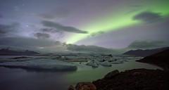 Lac glaciaire de Vatnajkull (yanndo2b) Tags: vatnajkull glacier sonya7r tokina17mmf35rmc 3200iso islande island iceland auroreborale auroraborealis