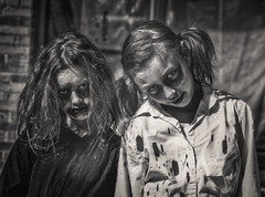 The Streets Of Orillia (Rafael Chacon Photography) Tags: comic comicbook gotham harleyquinn orillia rafaelchacon scary scarygirls zombie zombiefest