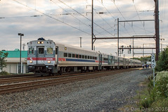Push Mode (Dan A. Davis) Tags: septa train railroad locomotive passengertrain pennsylvania langhorne push pull