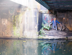 (DeepSane) Tags: london regentscanaltowpath georgebush reflections bridge