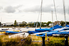 Down By The Seaside (Sean McCammon) Tags: mudeford harbour boats moored g6 panasonic