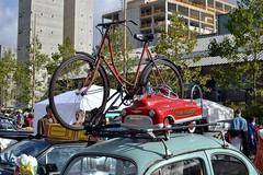2016-10-02: Bike Parking (psyxjaw) Tags: london londonist vintage festival classic car boot sale classiccar kingscross shopping lewiscubitsquare