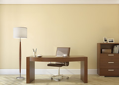 Kindred Spirit (Kindred-Spirit-Store) Tags: 3d apartment beige business cabinet chair comfortable contemporary decor design desk furniture indoor interior lamp light luxury minimalism modern nobody office render room study table wood workplace yellow store