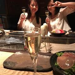 いろり料理炭兆で乾杯! #千種区  #名古屋  #伊藤麻衣子  #いとうまい子