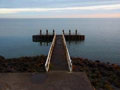 sunset (jelmar) Tags: water ijsselmeer