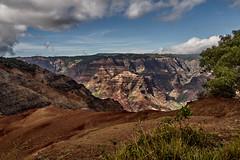 """Grand Canyon of the Pacific"" (AgarwalArun) Tags: sonya7m2 sonyilce7m2 hawaii kauai island landscape scenic nature views mountain fog clouds waimeacanyon statepark grandcanyonofthepacific canyon valleys mountains waterfall trees cliffs peaks waipoofalls kokeestream"