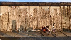 Forgotten (Lindsay Shanley) Tags: berlin wall berliner berlinwall east west eastberlin westberlin germany holocaust memorial bike sports sun sunset travel europe explore dream discover forgotten forget outdoors iphone outdoor