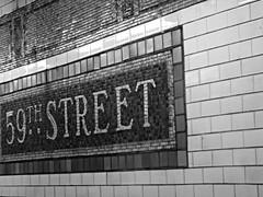 Lexington Avenue subway (Dan_DC) Tags: newyorkcity nyc newyork manhattan midtown subwaytile subway subwaystation 59thstreet lexingtonavenuesubway vintage sign uniquetonewyorkcity uniquelynewyork