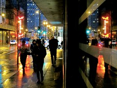 This Floating World (rwchicago) Tags: chicago winter rain evening rushhour downtown urban loop street streets