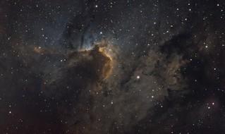 Cave Nebula - Sh2-155 (Explored)