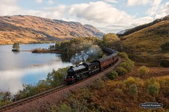 LNER Thompson Peppercorn Class K1 62005 ,Jacobite , Fort William - Mallaig , Scotland , 18-10-2016 (Bri Hall) Tags: jacobite k1 62001 scotland westhighlands highlands