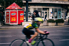Catch the speed (Master Iksi) Tags: bicycle ride rider street race bike cameraman camera outdoor streetphotography road beograd belgrade srbija serbia canon700d racer speed city
