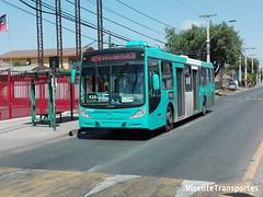 Transantiago | 424 Metro Universidad de Chile | Metbus | Caio Mondego H | Mercedes Benz O500U | FLXS89 (VicenteTransportes) Tags: transantiago 424 metro universidad chile metbus caio mondego mercedes benz o500u flxs89
