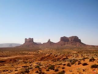 Monument valley (Utah, USA)