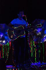 Animali (◄Laurent Moulin photographie►) Tags: plane r fest 2016 concert festival colombier saugnieu rhone musique groupe animali effet sur scene lumiere light lumieres led leds guitare psyche