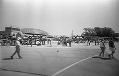 Liberty Aviation Museum 2015 (rentavet) Tags: vuws vivitarultrawideandslim rodinalstanddevelopment1200 analog hp5
