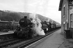 Levisham station (feroequineologist) Tags: 76038 76079 76084 nymr levishamstation levisham railway train steam northyorkshiremoorsrailway