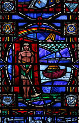 The Days of Noah (Lawrence OP) Tags: washingtondc national cathedral noah work stainedglass