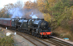 44871 LMS Stanier Class 5MT 'Black Five' 4-6-0, Filton Abbey Wood, Bristol (Kev Slade Too) Tags: 44871 45407 5z89 lms black5 stanier steam westcoastrailwaycompany filtonabbeywood bristol