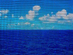 net shot (-gregg-) Tags: net ocean clouds sky cruise different