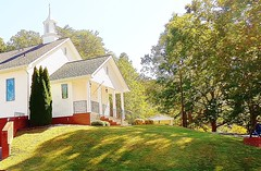 Southern Country Church (Olin Gilbert) Tags: awardtree