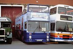 Preserved WBN 955L (SelmerOrSelnec) Tags: preserved leyland atlantean parkroyal wbn955l opentop manchester museumoftransport cheetham boylestreet selnec gmt bus