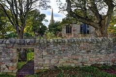 Back gate, Church of the Holy Trinity, Berwick-upon-Tweed (Baz Richardson (catching up again!)) Tags: northumberland berwickupontweed churchoftheholytrinity churchyards walls
