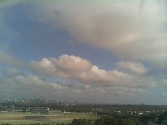 Sydney 2016 Dec 11 07:53 (ccrc_weather) Tags: ccrcweather weatherstation aws unsw kensington sydney australia automatic outdoor sky 2016 dec earlymorning