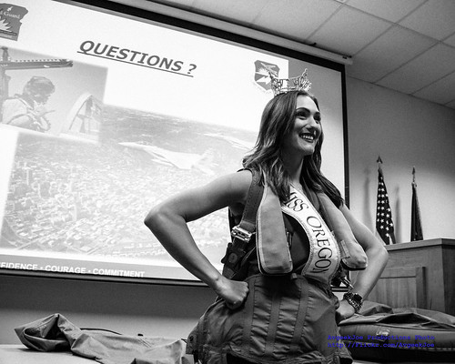Miss Oregon 2016 Alexis Mather in Black & White