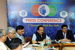 Dr. Harsh Vardhan addressing the Pre-Event Press Conference on the India International Science Festival 2016 (IISF-2016) organised by CSIR-NPL (legend_news) Tags: dr harsh vardhan addressing preevent press conference india international science festival 2016 iisf2016 organised by csirnpl