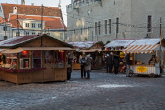 Christmas Market In Tallinn (AudioClassic) Tags: christmasmarket tallinn townhall square sprucetreebranch spruce tree people peaceful season holydays christmas architecture buildingexterior tourism tallinnoldtown nationallandmark
