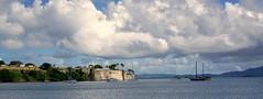 Fort du France (Carlos A. Aviles) Tags: travel vacation viaje crucero cruise caribbean caribbeansea crucerocaribe caribe ocean mar agua water blue azul ship islands islas fortaleza fortress fort sail