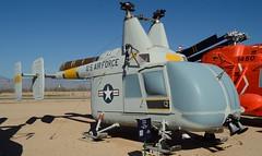 USAF Kaman HH-43F Huskie intermeshing-rotor helicopter - Pima Air & Space Museum, Tucson, Arizona (edk7) Tags: nikond3200 edk7 2013 us usa arizona tucson arizonaaerospacefoundation pimaairspacemuseum unitedstatesairforce usairforce usaf kamanhh43fhuskie 624531 c1965 intermeshingrotor helicopter utility transport rescue firefighting coldwar vietnamwar aircraft plane airplane aviation military lycomingt53turboshaft860hp