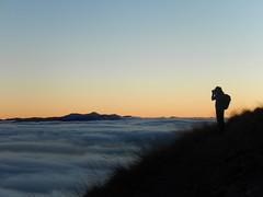sopra le nuvole (daniele ideale costanzo) Tags: tramonto gransasso montagna mountain landscape sunset abruzzo nuvole skyline