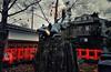Fushimi Inari Shrine. Inari Kitsune Kyoto. © Glenn E Waters. Japan 2016. (Glenn Waters ぐれんin Japan.) Tags: fox inarikitsune fushimi kyoto japan glennwaters 狐 いなり狐 京都 日本
