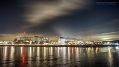 Night Lights of Fornebu (Normann Photography) Tags: akershus bærum fbu fornebu longexposure nightphotography norge no