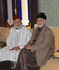Dr. Muhammad Tahir-ul-Qadri met Shaykh Abdullah-al-Haddad in Fez Morocco (Muhammad Tayyab Raza) Tags: fez morocco shaykhulislam dr muhammad tahirulqadri hassan mohiuddin qadri shaykh abdullahalhaddad