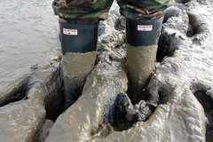 Last muddy walk of 2016 (essex_mud_explorer) Tags: hunter rubber wellington boots wellies welly gumboots rainboots wellingtons gummistiefel rubberlaarzen bottes caoutchouc hunterwellies hunterrainboots wellingtonboots rubberboots camo camouflage trousers mud muddy mudflats creek estuary tidal schlamm boue welliesinmud bootsinmud muddyboots muddywellies bowersmarsh thamesestuary riverthames