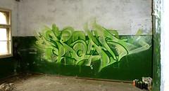 grow green 5 (15) (spoare153) Tags: new color graffiti frankfurt vandal outline piece brandenburg ffo spoare spoare153 153design odwer