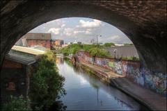 Grand Union Canal, back of Fazeley Street, Digbeth, Birmingham (alanhitchcock49) Tags: by club digital photography graffiti canal birmingham union group may grand visit 19 miscellany redditch u3a digbeth 2013 webheath