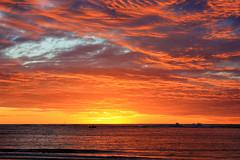 Red Hot Sky (Allieca Paterson) Tags: sunset clouds australia redsky westernaustralia kalbarri