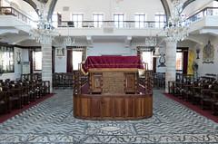 Interior - Synagogue Kahal Shalom - Rhodes (BlueVoter - thanks for 1.7M views) Tags: temple synagogue unesco rodos rhodes worldheritage rhodos sephardic sinagoga kahalshalom