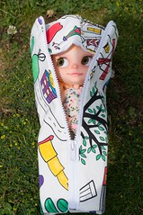 Peekaboo!  New Blythe Doll carrier