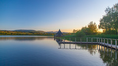 Llangorse Lake (Tim McDonnell) Tags: camping people mountain lake beautiful wales canon landscape angle hiking exploring wide full adobe frame 5d f4 touring 24105 24105mm beautfil