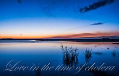 Gabo forever (Snchez Huelves) Tags: longexposure light sunset sky espaa seascape reflection luz nature clouds landscape atardecer spain nikon solitude paisaje cielo minimalism waterscape exposicinlarga d90