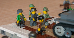 Ad hoc war MOC (SEdmison) Tags: lego battle german soviet cccp
