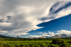 201401767 (garydrakephotos) Tags: trees sunset sky mountains colors clouds alberta valley bushes chiefmountain southernalberta mountainviewarea