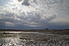 Clouds and low tide marsh